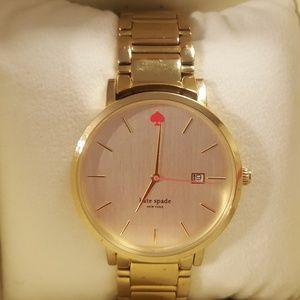 Kate Spade Gramercy Grand Rose Gold Watch